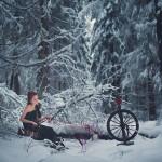 сюрреалистические портреты Николая Тихомирова