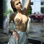 арт ню фотографии Виктории Иваненко