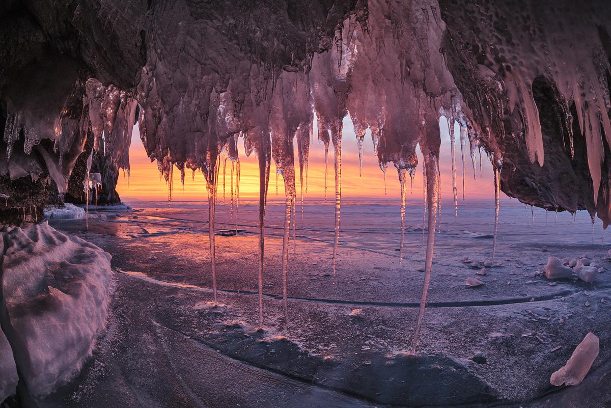 Прекрасные зимние пейзажи екатерины