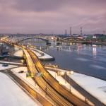 красивые городские пейзажи Сергея Лукста