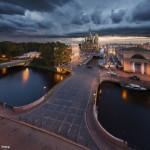 городские пейзажи Сергея Дегтярева