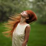 рыжие девушки на фото Марины Полянской