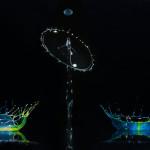 макро фото цветных всплесков Сергея Толмачева