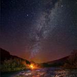 фото ночного звездного неба Андрея Шумилина