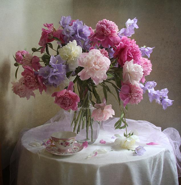 Натюрморты цветы фото