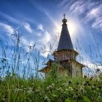 Фото деревянных церквей Евгения Мазилова