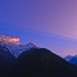 горные пейзажи Ивана Рослякова