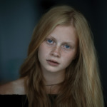 портреты девочек Оксаны Таценко