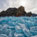 ледяной пейзаж Байкала Андрея Грачева