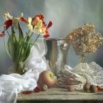 нежные натюрморты Анны Немирович