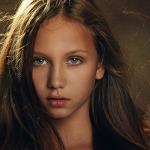 Детский портрет Марины Ив