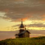 церкви острова Кижи Эдуарда Гордеева