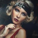 оригинальный гламурный портрет Андрея Королева