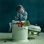 Винтажные портреты детей Натальи Смирновой