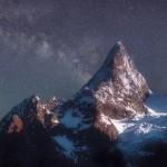 Горный пейзаж Кавказа Владимира Копылова