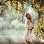 Художественные портреты девушек Стаса Пушкарева