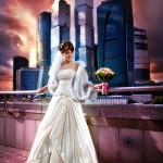 Прекрасный свадебный портрет Евгения Меняйло