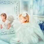Милый детский портрет Анастасии Кучиной