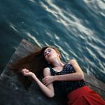 Прекрасный женский портрет Антона Ловченко