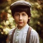 Искренний детский портрет Елены Галицкой