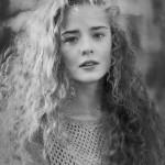 черно-белые портреты девочек Ларисы Осиповой