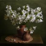 Прекрасный натюрморт с цветами Анны Петровой