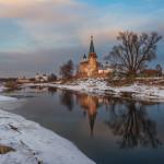 памятники церковной архитектуры Елены Челышевой