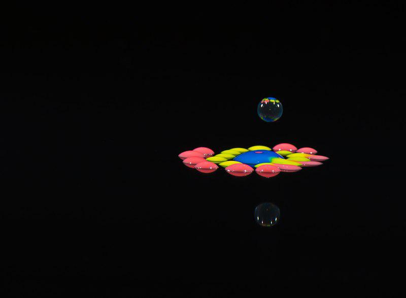 цветные капли и всплески (короны) Сергея Толмачева