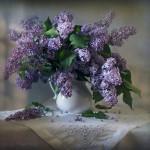 красочный натюрморт с цветами Марины Орловой